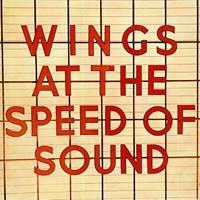 "Альбом ""Wings At The Speed Of Sound"" - лицевая сторона диска"